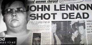 john lennon shot dead