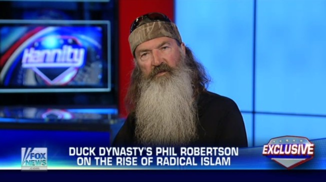 phil robertson isis