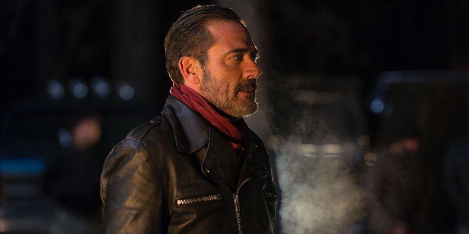 Negan and Abraham on The Walking Dead