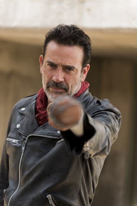 Rick Grimes and Negan on AMCs The Walking Dead