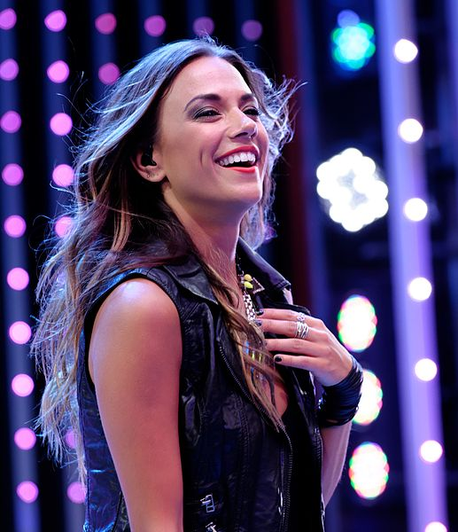 Jana Kramer is determined to stop domestic violence and she's doing something about it (source: CMT.com)