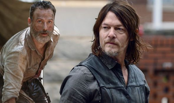 Daryl and Rick on The Walking Dead | Photo Credit AMC