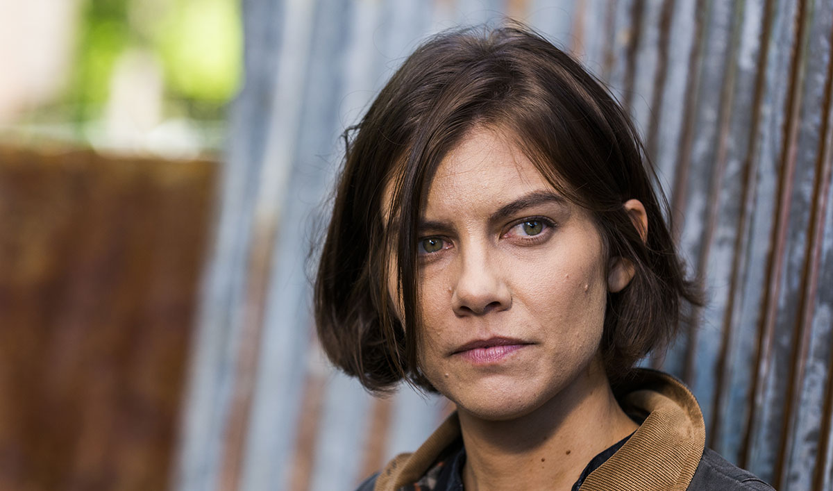 Lauren Cohan Talks About Maggies Haircut Baby Rhee And More