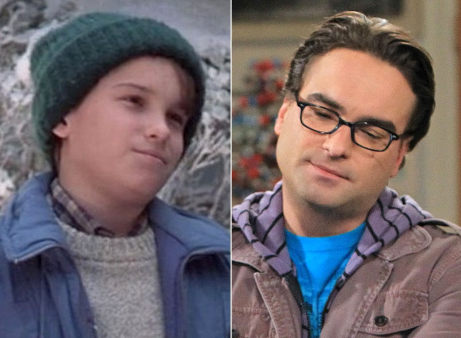 Chevy Chase Used To Give Johnny Galecki Tours Of The