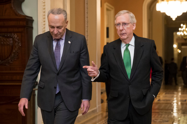 Schumer rejects border proposal from Mitch McConnell