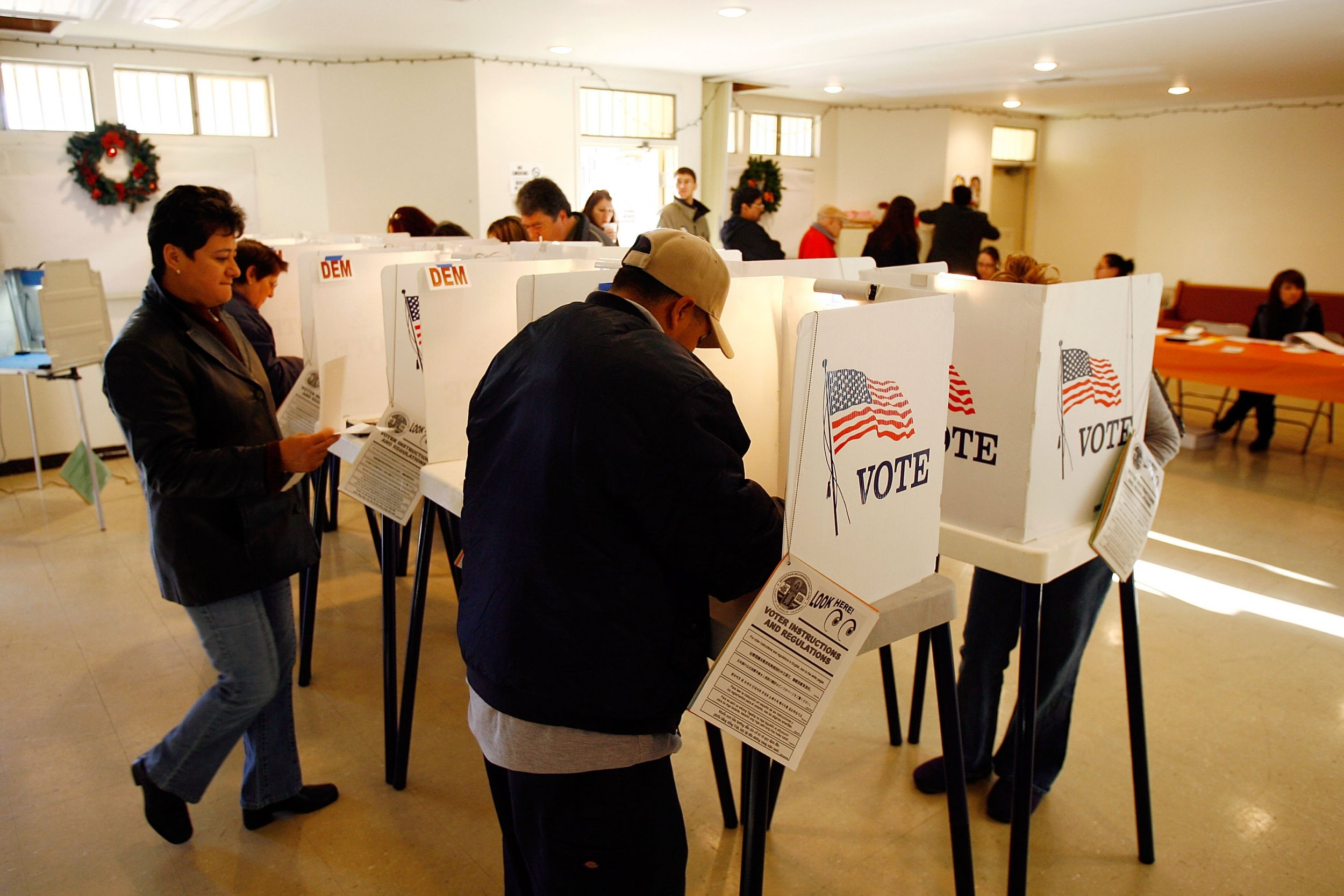 California Illegal immigrants vote