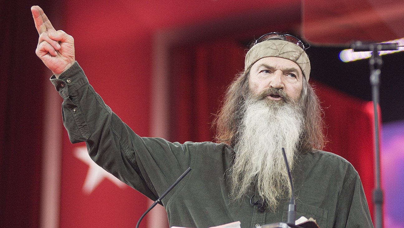 phil robertson Atheists are the latest group that controversial duck dynasty patriarch phil robertson has decided to train in his cross hairs.