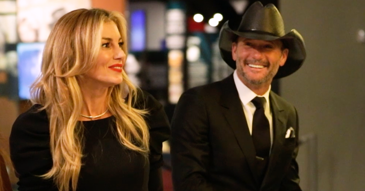 Faith Hill, Tim McGraw, gender reveal