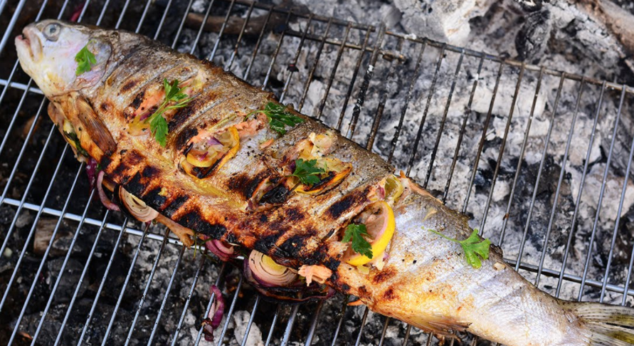 BBQ-Grilled-Trout-In-Beer-Butter